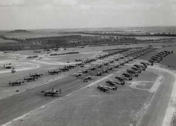 OPERATION MALLARD : LES RENFORTS ARRIVENT ! Les planeur de la 6ème airborne Mallard